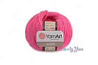 YarnArt_Jeans_Розовый неон №59