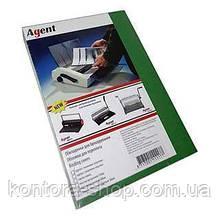 Обложки А4 250 г/м2 глянцевые черные (100 штук)