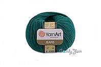 YarnArt Jeans, изумруд №63