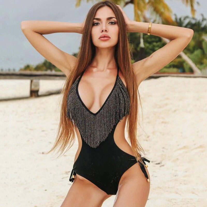 Женский сдельный купальник  от 42 до 46 размера РАЗНЫЕ ЦВЕТА  Фабричный Китай