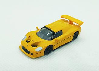 Модель Ferrari micro cars F50 GT в масштабе 1:100 (желтый)