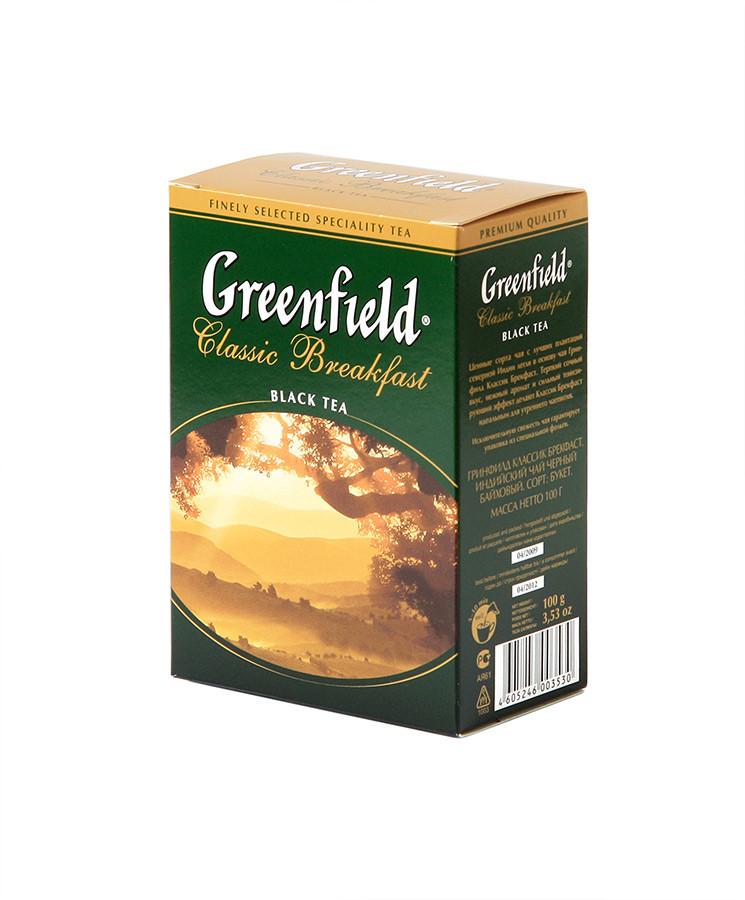 Чай черный Greenfield Classic Breakfast 100 гр.
