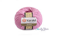 YarnArt Jeans, розовый №20