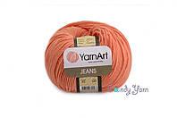 YarnArt Jeans, морковный №23