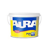 Aura Fix PVA Белый 2,5 л после высыхания бесцветный