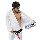 Кимоно для Бразильского Джиу Джитсу Keiko Balance Белое, фото 4