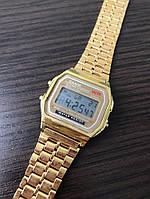 Часы Casio retro gold, фото 1