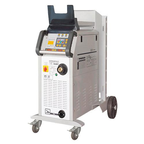 Сварочный полуавтомат инверторный 380В, 12А, сталь 0.6-1.2, алюм. 0.8-1.2, медь 0.6-1.2 G.I. KRAFT GI13114-380