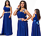 Выпускное платье в пол со стразами (красный) 828355, фото 3