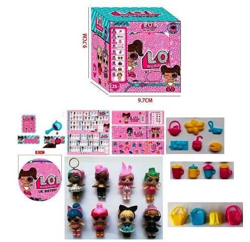 Кукла LOL Surprise ЛОЛ JL 18565