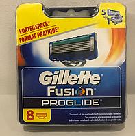 Лезвия Gillette Fusion ProGlide упаковка 8 шт, фото 1