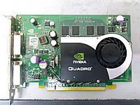 Видеокарта для компьютера NVIDIA Quadro FX570 256MB DVI-I выход
