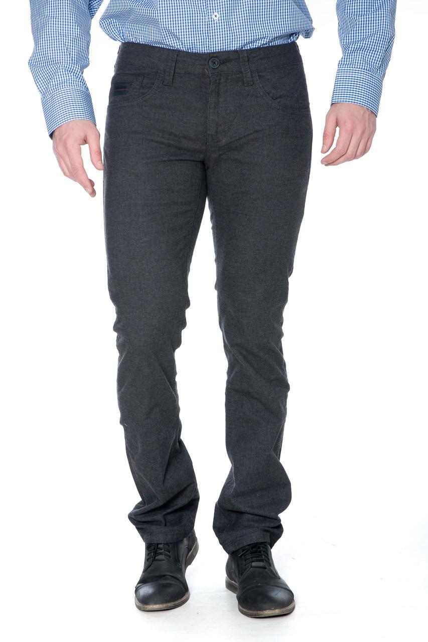 Мужские джинсы Franco benussi 16-107 темно-серые