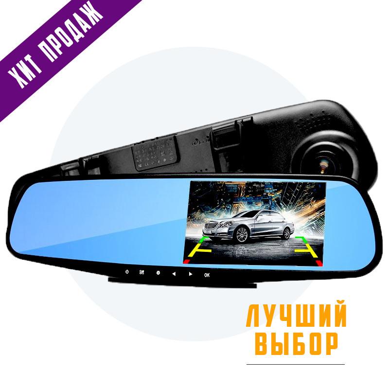 Автомобильный видеорегистратор (авторегистратор зеркало заднего вида) DVR 138E