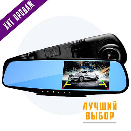 Автомобильный видеорегистратор (авторегистратор зеркало заднего вида) DVR 138E, фото 2