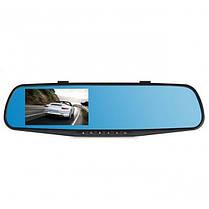 Автомобильный видеорегистратор (авторегистратор зеркало заднего вида) DVR 138E, фото 3