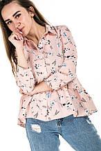 Рубашка 13531 (св.розовый)