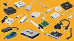 Переходники (DVI-VGA, DVI-HDMI, PS\2-USB), сетевая карта, Wi-Fi антенна, звуковая карта