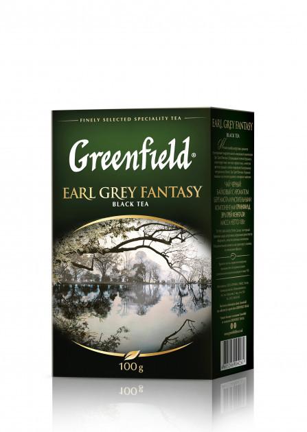 Чай черный с бергамотом Greenfield Earl Grey Fantasy 100 гр.