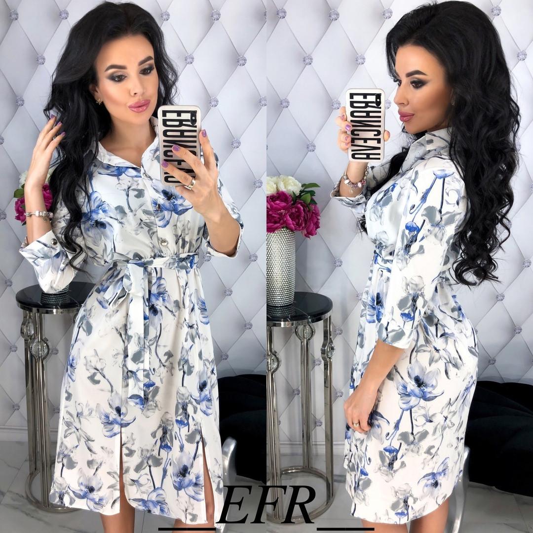 0035240485e0 Женское нежное платье в разных принтах: продажа, цена в Одессе. платья  женские от ...