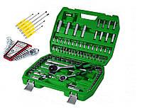 Набор инструментов 94 ед. ET-6094SP + набор ключей 12 ед HT-1203 + Набор отверток ПОД КЛЮЧ 6 шт.