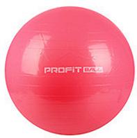 MS 0382 Мяч для фитнеса (фитбол) Profi 65см- Розовый