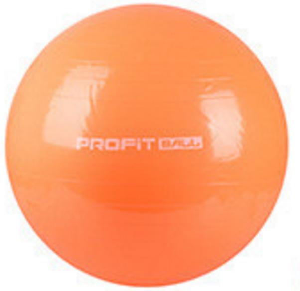 MS 0382 Мяч для фитнеса (фитбол) Profi 65см- Оранжевый