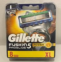 Лезвия Gillette Fusion ProGlide Power упаковка 8 шт, фото 1