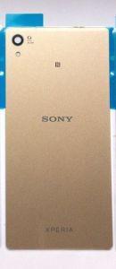 Задняя крышка Sony E6533 Xperia Z3 plus DS, E6553, Xperia Z4 золотистая