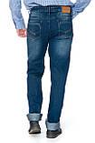 """Мужские джинсы Franco Benussi 12-671 L 36"""" синие, фото 4"""