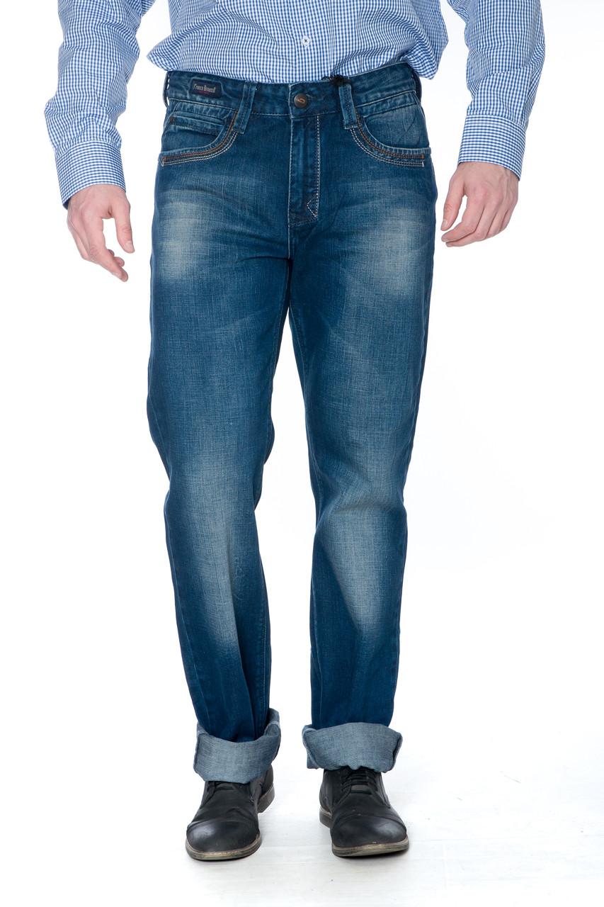"Мужские джинсы Franco Benussi 12-671 L 36"" синие"