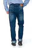 """Мужские джинсы Franco Benussi 12-671 L 36"""" синие, фото 5"""
