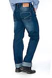 """Мужские джинсы Franco Benussi 12-671 L 36"""" синие, фото 6"""