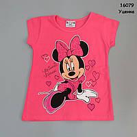 Футболка Minnie Mouse для девочки. 7-8 лет, фото 1