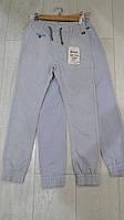Детские летние котоновые брюки для мальчиков GRACE,разм 116-146 см, фото 1