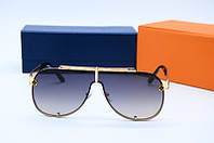 Мужские солнцезащитные очки Маска 5815 черн золото