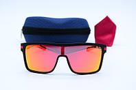 Солнцезащитные мужские очки Маска с поляризацией 344 оранж