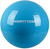 MS 0383 Мяч для фитнеса (фитбол) Profi 75см- Голубой