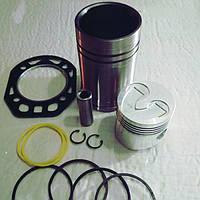 Поршневая группа двигателя R180N мотоблока (Тата)