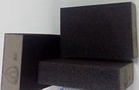 Губка р80 с абразивным слоем Klingspor