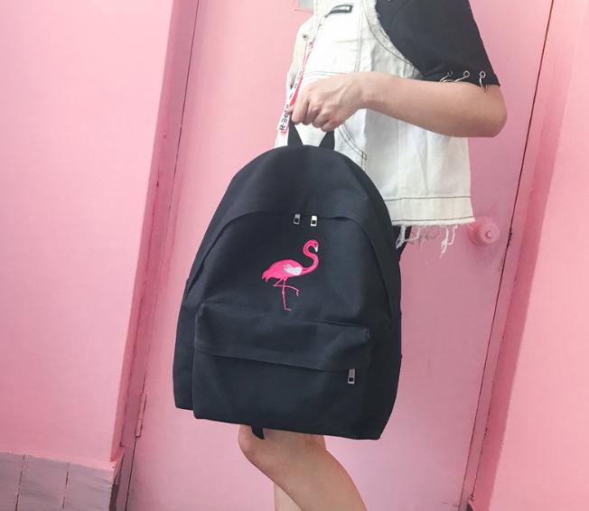 569c96b49b42 Рюкзак Черный Фламинго — в Категории