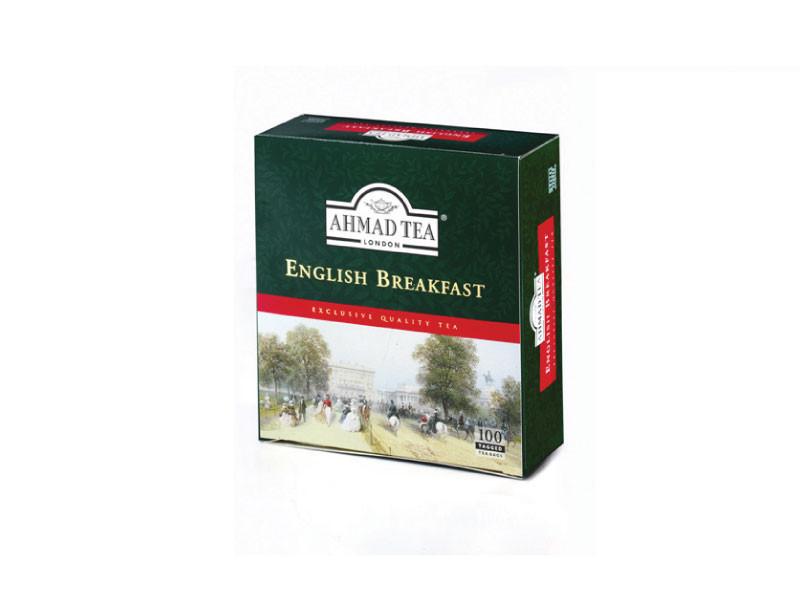 Чай чорний Ahmad English Breakfast у пакетиках 2 g x 100 шт х 6 шт в уп