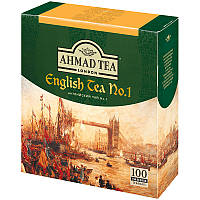 Чай черный Ahmad English Tea № 1 в пакетиках  2 g x 100 шт х 6 шт в уп