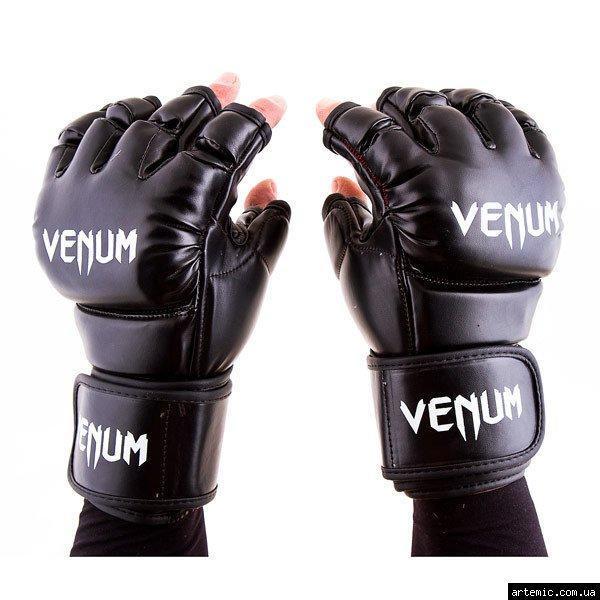Перчатки Venum MMA, 364 Flex, S, M, L, XL, черный