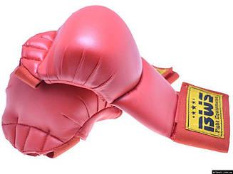 Накладки для карате BWS  М красный