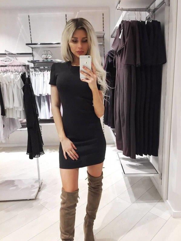 """Черное платье """"Mini"""""""