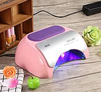 Лампа для маникюра Professional 48W Нежно-розовая CCFL+LED, фото 1