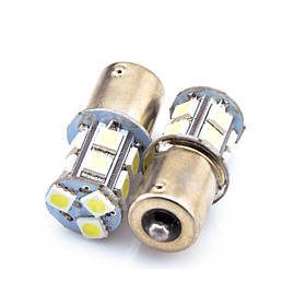 Светодиодная лампа AllLight T25 13 диодов 5050 1156 BA15S 12V двухэтажная