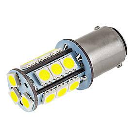 Светодиодная лампа AllLight T25 18 диодов 5050 1156 BA15S 12V WHITE