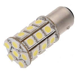 Светодиодная лампа AllLight T25 27 диодов 5050 1156 BA15S 12V